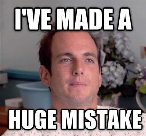 job mistake