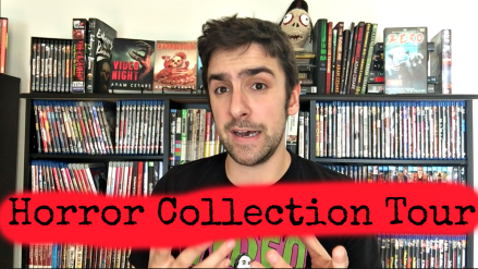 Horror movie collection tour thumbnail